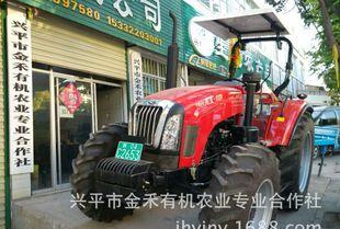 大型拖拉机1304大马力配套土壤深松旋耕等整地农机田间作业;