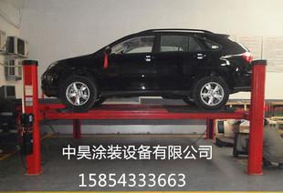 Car lift, four support four wheel alignment, two lift, four wheel alignment equipment