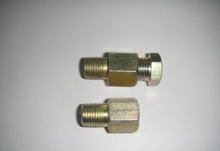 【厂家直销】供应液压润滑系统用直通管接头JB/ZQ4569液压管件