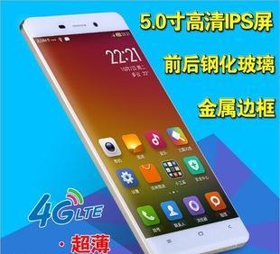 正品 5.0寸大屏双卡八核超薄啊里云智能手机联通移动3G4G手机批发;