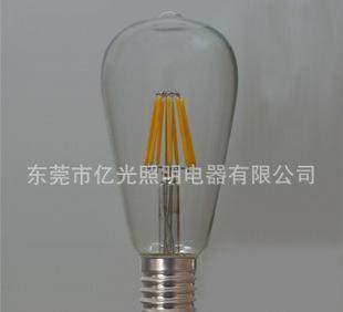 直销批发 ST64 LED LED 灯丝灯泡 LED灯泡 LED灯丝泡;