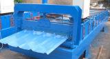爆款 压瓦机900型辊式冷弯成型全自动后剪切金属建材彩钢瓦设备;