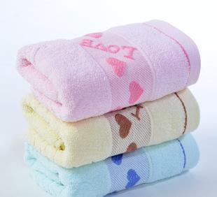 The supply of cotton towel towel factory wholesale super soft tissue Gaoyang towel with logo