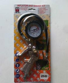 带枪胎压表 胎压监测仪 多功能胎压计 胎压枪 轮胎压力表