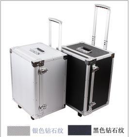 大号铝合金拉杆箱行李箱工具箱仪器箱单反摄影机防潮铝箱;