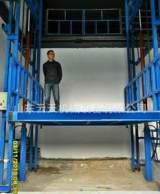电动液压升降机 起重装卸设备 导轨式货梯 液压升降平台信誉保证;
