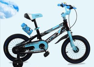 小卡布厂家直销12寸14寸16寸童车新款儿童自行车单车男女通用;