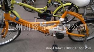 原装二手日本进口助力自行车/电动车/原装锂电池/85新助力车;