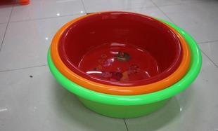 【厂家直销】塑料大盆 塑料制品 家用制品洗衣盆 娃娃盆 75直身盆;