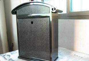 供应高档时尚欧式风格hg-00627款铝合金信报箱