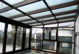 提供青岛钢结构工程承包 玻璃 铝塑板门头工程;