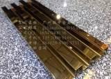 厂家直销供应不锈钢装饰线板 异形金属装修建材 会所装修线板;