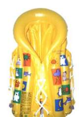 【厂家直销】各种充气儿童救生圈 救生衣等水上救生器材 可定制;