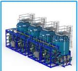 COSHT高级酒店水处理加压过滤设备 酒店净化水 固液分离设备;