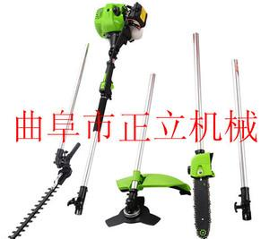 The mountain high pruning machine high gasoline branch saw 2 meters to 3 meters length of pole selection