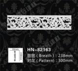 欧式装饰PU建材 PU镂空线板 雕花平线 厂家直销 HN-82163;