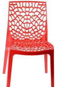 2015新款多孔设计注塑椅子模具;
