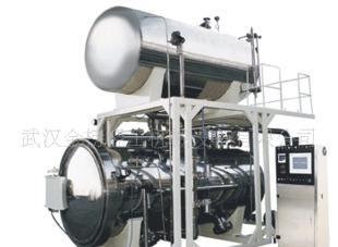 武汉热水回转式杀菌装置、湖北专业生产食品、饮料杀菌设备