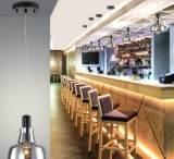 北欧美式乡村复古loft工业玻璃餐厅吊灯 酒吧台客厅过道书房灯具;