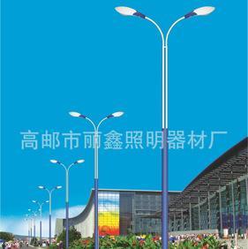 【道路照明厂家直销】单臂道路路灯 价格便宜整套定制加工;