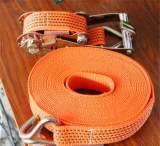 集装箱捆绑带 5cm*4m货柜捆绑绳 交通运输固定货物;
