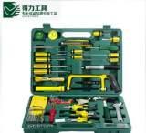 得力五金电动手动工具套装 42件套电工电讯维修工具箱家用组套;