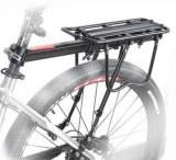 自行车快拆式铝合金后货架 山地车行李架 单车载物架 骑行装备;