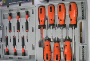 供应34件套螺丝批/螺丝刀套装组合/多用螺丝刀;