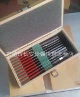进口特种异形电镀金刚石锉 带胶柄精密锉刀10支/套3*50*180长;