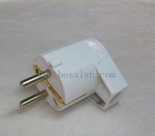 高品质两极电源插头 接线插头无线插头 批发厂家直销;