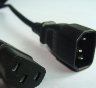 三极电源线插头/两极电源线插头/公母电源线插头/弯头电源线插头;