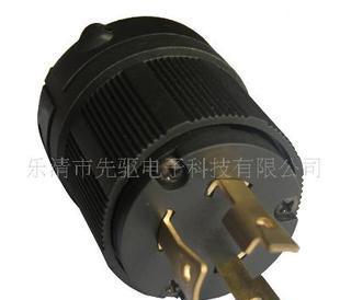 供应美式插头 L5-30P发动机电源插头 两极电源插头;