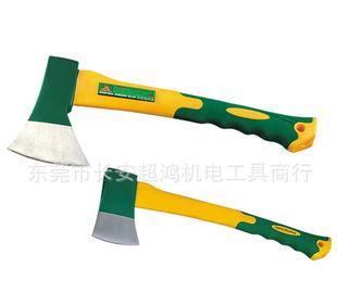 W0334A TPR包塑柄玻璃纤维斧头 高密硬度斧子 劈斧手斧;