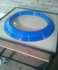 생산 발산하다 밸브 씰, 발산하다 밸브 패킹용 고무 패드, 용광로 발산하다 밸브 쓸 고무 바퀴