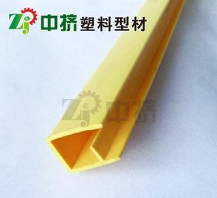 PVC塑料异型材 加工生产优质PVC挤塑件 pvc包边胶条 T-05;