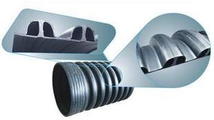 厂家供应HDPE内肋增强螺旋波纹管;