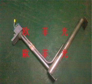 Electroplating trough special titanium heating tube to heat the liquid electric heater safety and no pollution