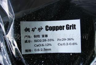 供应铜炉渣铜矿砂0.6-2.5mm;