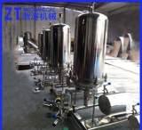 长期供应 硅藻土过滤机组 不锈钢硅藻土过滤器 立式硅藻土过滤机;