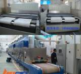 人造大理石生产设备 石板隧道式微波烘干机 云南石材微波干燥设备;