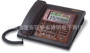 美迪声电话机 6896超大电话机 多功能真皮 总裁办公专用座机;