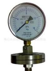 供应YM系列不锈钢耐震防震卫生型隔膜压力表;