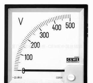 瑞典cewe进口 指针式整流电流表电压表CQR48 船用仪表 特价销售;