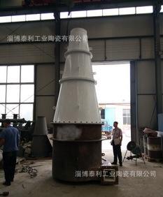 大型水力旋流器, 内衬超耐磨陶瓷水力旋流器,洗煤专用;