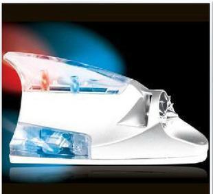 белый автомобиль ветра огонь акульих плавников ветра огонь переоснащение автомобилей декоративные лампы мигающих огней, смешанные партии