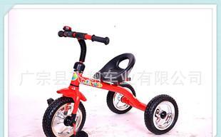 厂家批发高档儿童三轮脚踏车 儿童车 简易三轮车 一件代发;