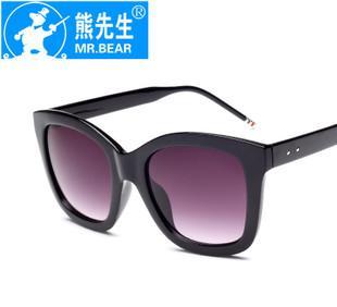 العلامة التجارية النظارات الشمسية الرجعية السيدة التعميم ذكر أزياء النظارات الشمسية مع مرآة G545 الفقرة نجم فان بينغ بينغ