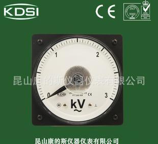 现货直销 指针式交流电压表 LS-110 AC3KV 广角度伏特表 船用仪表;