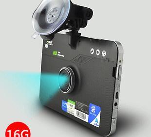 E路航Z18 16G智能安卓GPS导航仪电子狗行车记录仪三合一 高清 7寸;