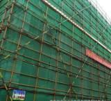 重庆供应绿色建筑安全网密目 安全防护网 再生料防坠立网;